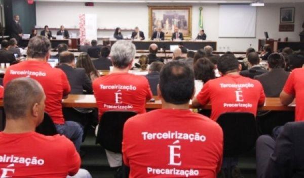 Centrais cobram do STF participação no debate sobre terceirização