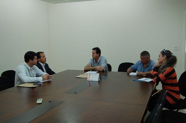 Sindicato de Umuarama recebeu a visita do Superintendente Regional do Banco do Brasil