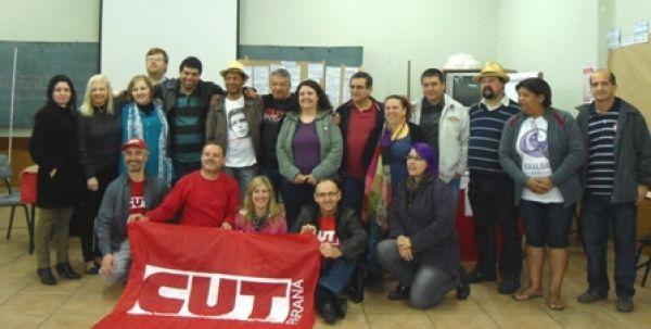 Pactu participou do Planejamento da CUT-PR