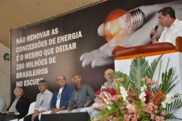 Lançada campanha em defesa da renovação das concessões no setor elétrico e contra as privatizações