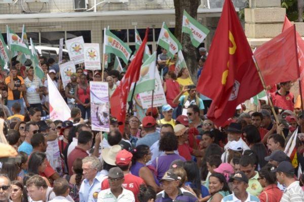 Centrais e movimentos sociais fizeram dois atos contra a Reforma da Previdência