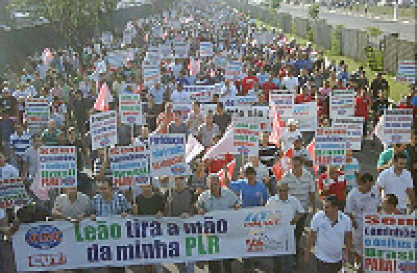 Trabalhadores realizam protestos nesta quinta por isenção de IR sobre PLR