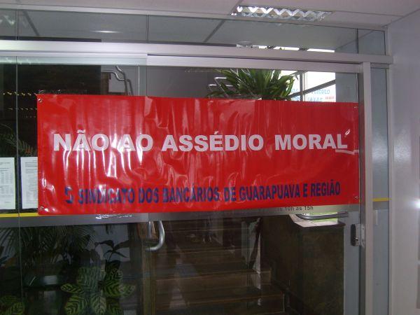 Assédio moral no Banco do Brasil em Prudentópolis Pr