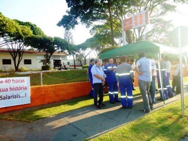 Sindicatos do Pactu participam de mobilização da Copel