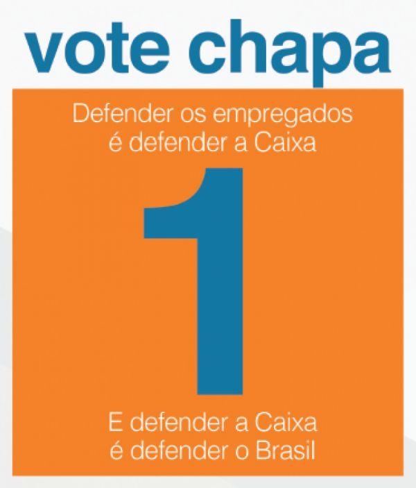 Contraf apoia Chapa 1 para representar os empregados da Caixa no Conselho de Administração (CA)