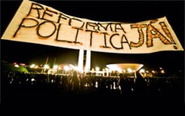 Movimentos sociais ampliam organização do plebiscito para reforma política