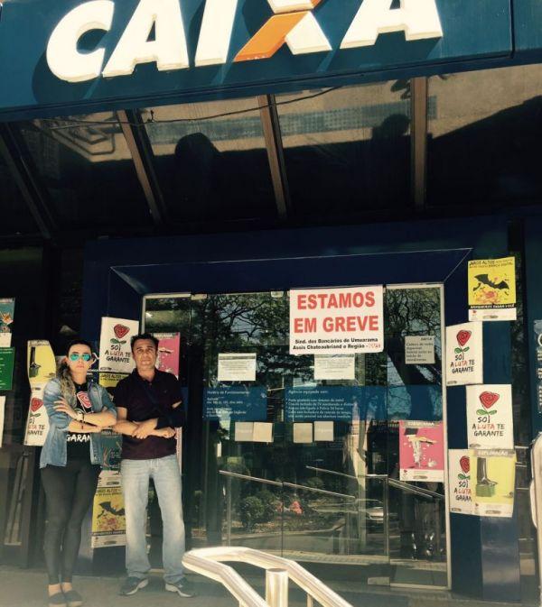 Paraná resiste na greve com 820 agências e onze centros administrativos fechados