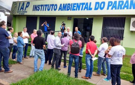 Sindicato de Umuarama participa de mobilização em defesa do meio ambiente