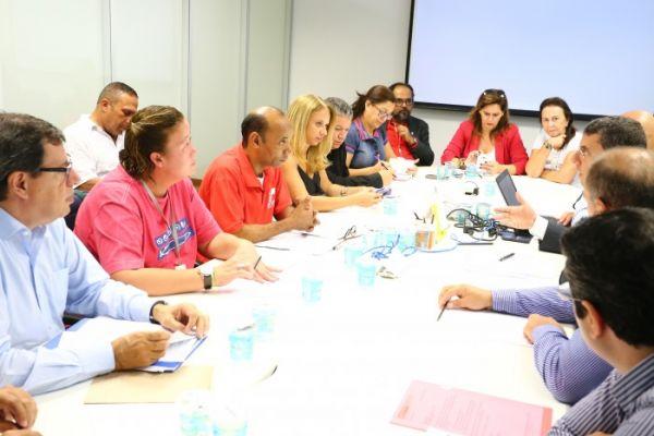 Emprego e agenda sindical foram os temas da reunião entre a Contraf-CUT e o banco Itaú