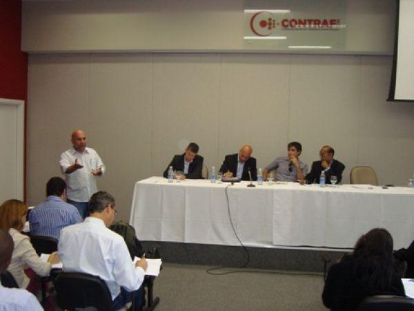 Contraf-CUT cobra indicador da PCR e dabate ponto eletrônco do Itaú