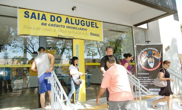 Mobilizados, funcionários do Banco do Brasil aguardam boa proposta de PLR
