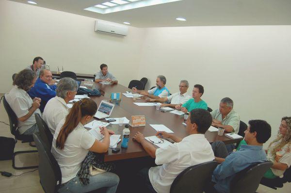 Sindicatos do Pactu se reuniram com o presidente da Fetec em Umuarama