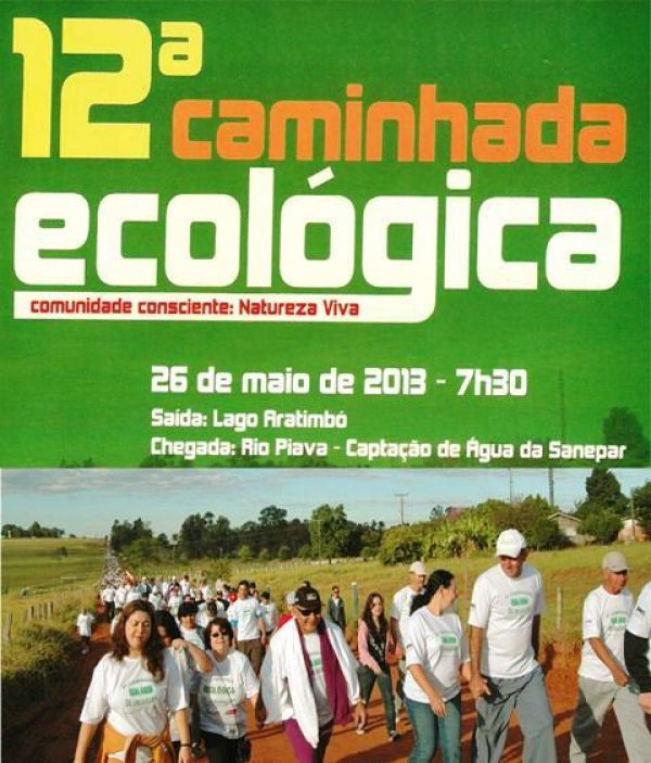 12º Caminhada Ecológica de Umuarama já começou com a entrega de camisetas