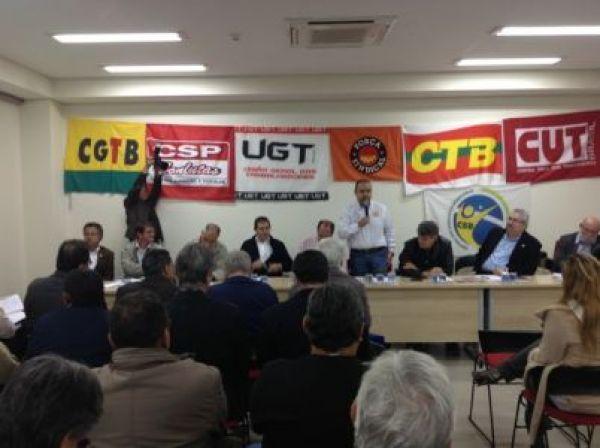CUT e demais centrais sindicais marcam atos conjuntos para dia 11 de julho