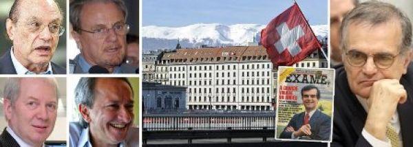 Ex-tesoureiro de Serra e FHC está na lista das contas do HSBC na Suíça