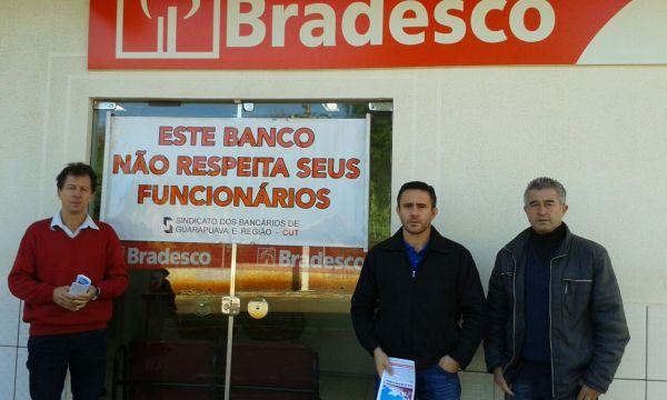 Bradesco: Pactu participa de Dia Nacional de Luta em defesa do emprego