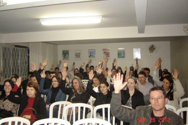 Sindicatos do Pactu aprovam propostas em suas assembleias