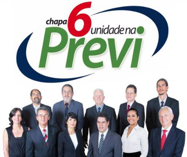 Contraf-CUT e PACTU apoiam Chapa 6 Unidade na Previ na eleição de 18 a 29 de maio