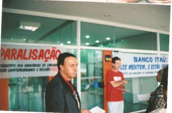 Bancários do Itaú fazem paralisações em todo o país em defesa do emprego