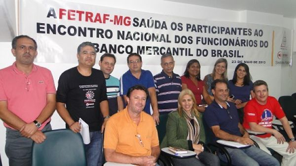 Encontro Nacional dos Funcionários do Mercantil aponta estratégias de luta e de mobilização