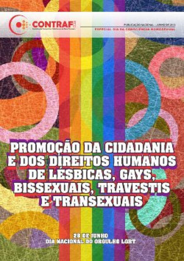 Contraf-CUT divulga folder sobre Dia Nacional do Orgulho LGBT