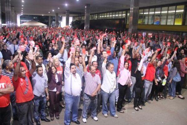 Assembleias deflagram greve nacional dos bancários por tempo indeterminado