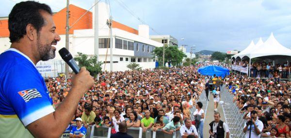 Festa do 1º de Maio dos Metalúrgicos de Guarulhos reúne 30 mil pessoas no Taboão