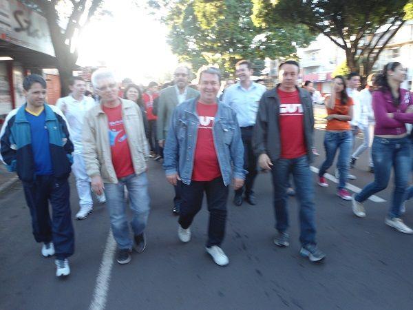 Sindicato participou da abertura do Dia do Desafio, em Umuarama