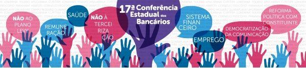 Conferência Estadual dos Bancários será nos dias 03, 04 e 05 em Curitiba