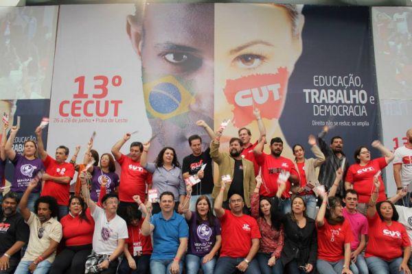 Congresso Estadual da CUT Paraná define nova direção com paridade de gênero