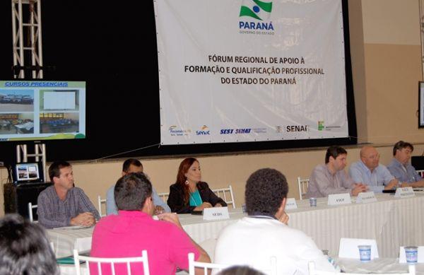 Sindicato de Umuarama participou de Fórum sobre a Formação e Qualificação Profissional