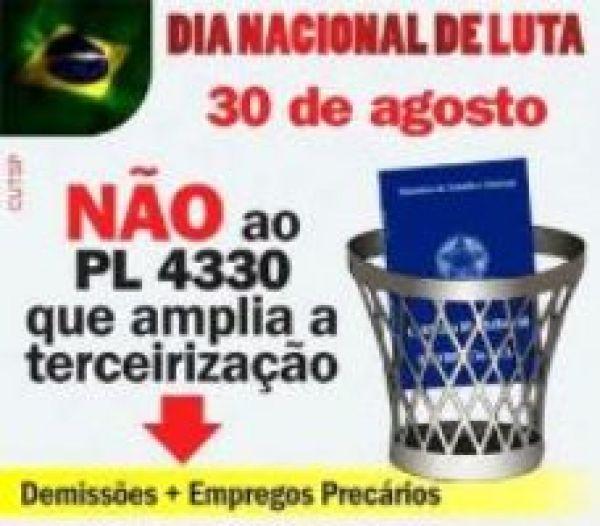 Contraf-CUT reforça Dia Nacional de Mobilização e Paralisações nesta sexta