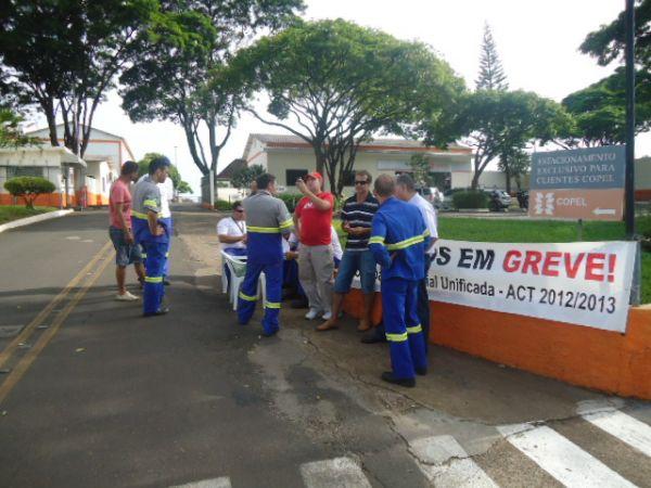 Sindicatos do Pactu participam mais uma vez de movimento vitorioso dos empregados da Copel