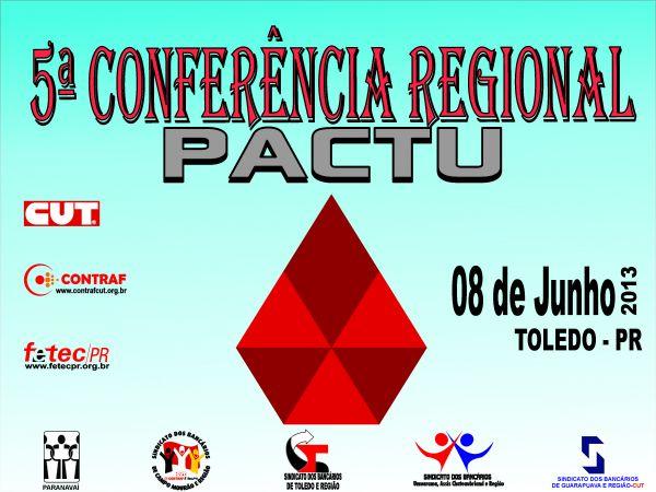 5ª Conferência Regional do Pactu