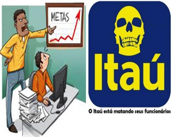 No Itaú, bancários têm de assoviar e chupar cana