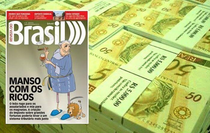 País perde R$ 4,6 bi ao não tributar acionistas de Itaú, Bradesco e Santander