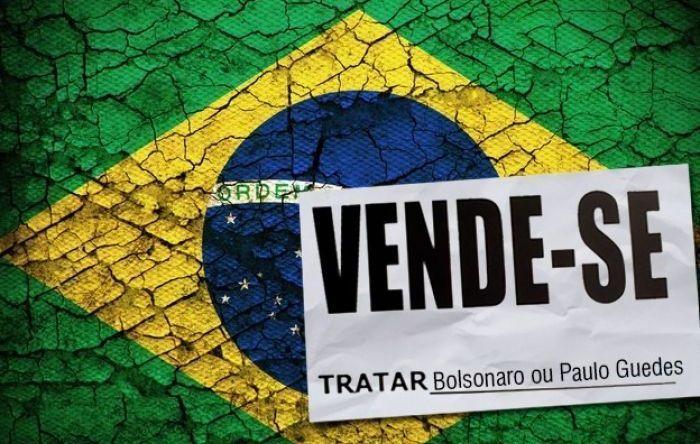 Para cobrir incompetência, Guedes quer acelerar venda do patrimônio nacional