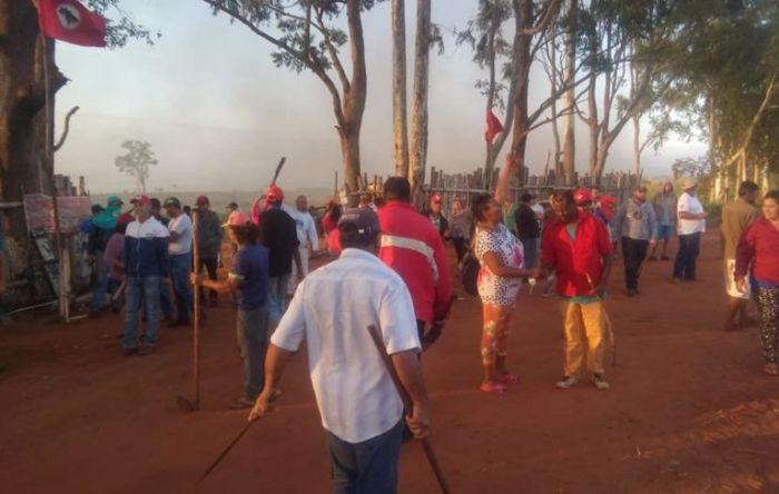 Paraná: PM realiza despejo violento de 50 famílias em Querência do Norte