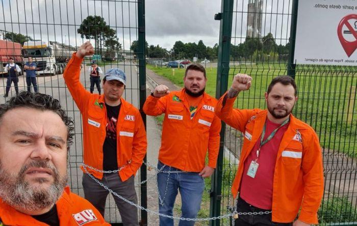 Petroleiros do Paraná ocupam fábrica contra demissões arbitrárias