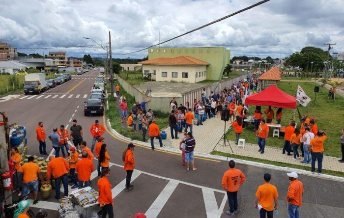 Petroleiros entram no 6º dia de greve com mais adesões e solidariedade da sociedade