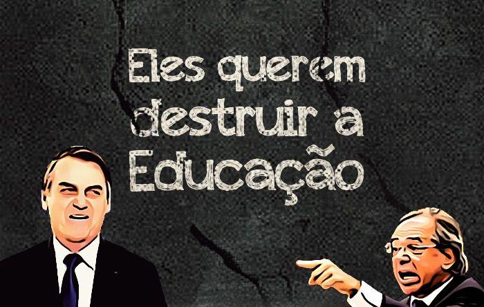 Plano econômico de Bolsonaro ameaça sobrevivência da educação e do novo Fundeb