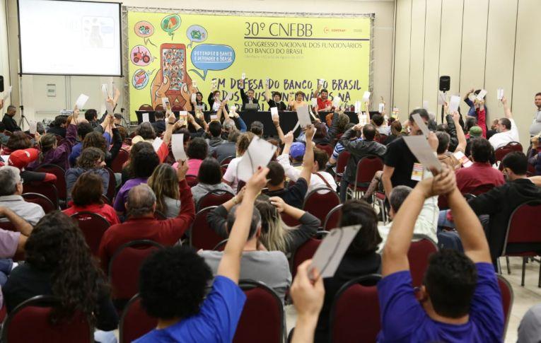 Plenária final aprova proposta do 30º CNFBB Olivan Faustino