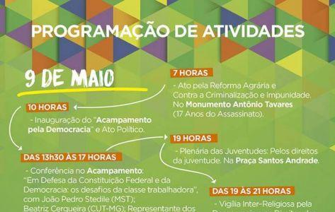 PR: Frente Brasil Popular promove Jornada pela Democracia em Curitiba