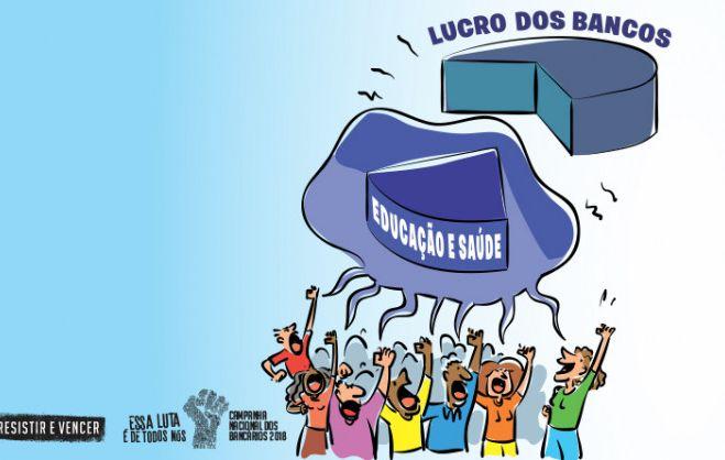 Presidenta da Contraf-CUT aponta algumas das razões para os altos lucros dos bancos brasileiros