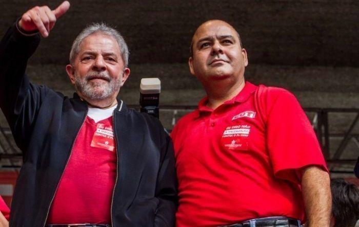 Presidente da CUT visita Lula nesta quinta-feira (30)