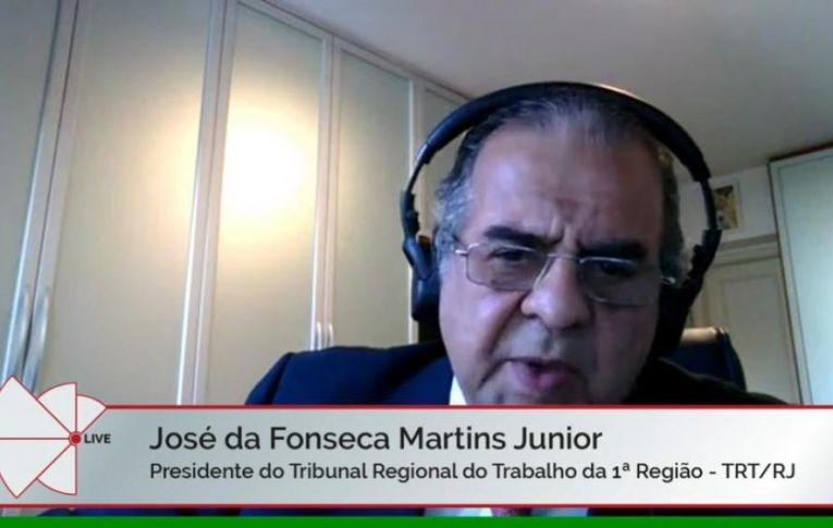Presidente do TRT1 defende que, com trabalho remoto, não faz sentido pagar vale-alimentação e vale-transporte