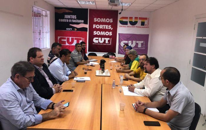 Presidentes das Centrais do Paraná organizam agenda de lutas para março