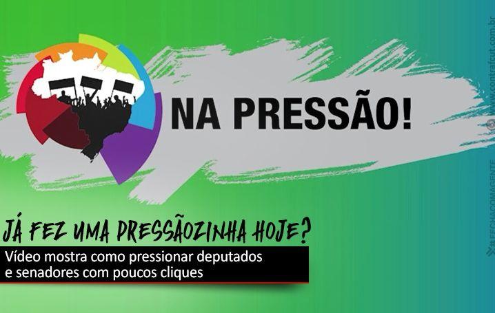 Pressione deputados e senadores a defenderem o Banco do Brasil