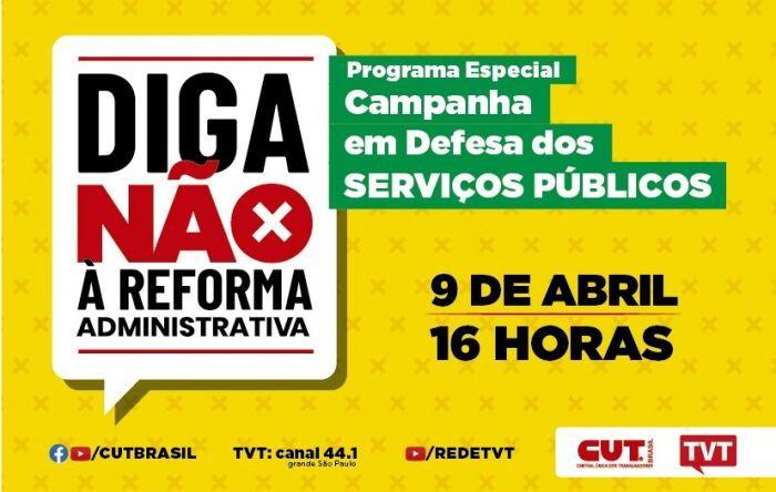 Programa em defesa do serviço público será exibido nesta sexta (9) na TVT