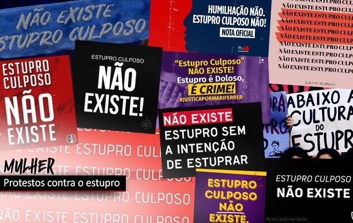 Protestos em várias cidades marcam denúncia contra estupro de jovem